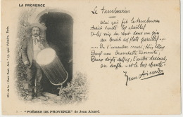 Provence Joueur De Tambourin Poeme De Jean Aicard  Abeilles Amandes - Music And Musicians