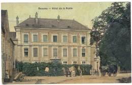 Cpa Beaune - Hôtel De La Poste ( Diligence Petit Plan ) - Beaune