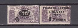 1938    EDIFIL Nº    761 / 762     / ** / - 1931-Hoy: 2ª República - ... Juan Carlos I