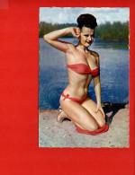 Femme - Pin Up - Maillot De Bain - Pin-Ups