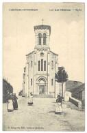 Cpa Les Ollières - L'église - France