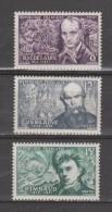FRANCE / 1951 / Y&T N° 908/910 ** : Baudelaire, Verlaine Et Rimbaud X 1 Série Complète De 3 TP - Unused Stamps