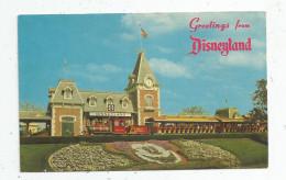 G-I-E , Cp , Greetings From DISNEYLAND , Chemin De Fer , Train , Voyagée 1970 - Disneyland
