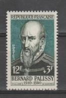 "FRANCE / 1957 / Y&T N° 1109 ** : ""Célébrités"" (Bernard Palissy) X 1 - Unused Stamps"