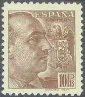 ESPAÑA 1939 - Edifil #878 - * MLH (con Fijasellos) - 1931-Oggi: 2. Rep. - ... Juan Carlos I