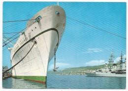 Trieste - Le Rive Con La T/N C. Colombo - Nave - H771 - Trieste