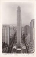 New York City Rockefeller Center Real Photo
