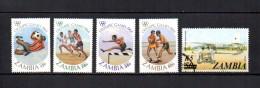 Zambia    1984-85  .-  Y&T  Nº   302/305 - 321 - Zambia (1965-...)
