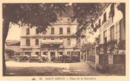 """Saint Amour  """" Place De La Chevalerie """"   ( Citroën C4 ) - Lons Le Saunier"""