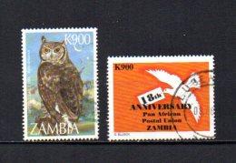 Zambia    1997-98  .-  Y&T  Nº   671 - 692 - Zambia (1965-...)