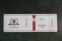 """Etui De Paquet De Cigarettes """" STATE EXPRESS""""-  ENGLAND - Empty Cigarettes Boxes"""