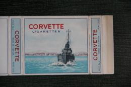 """Etui De Paquet De Cigarettes """" CORVETTE """"-  ENGLAND - Etuis à Cigarettes Vides"""