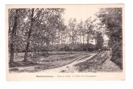 95 Montmorency La Mare Des Champeaux Dans La Foret , Carte Non Voyagée - Montmorency