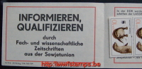 50% DISCOUNT WWF - DDR - 1987- Booklet  - SMHD17aay1 : 10 * 10 Pf: Weltkommunikationsjahr: V/5/2 3450 Ag 1... - Ohne Zuordnung