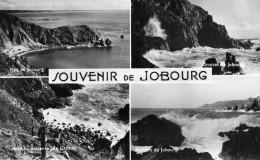 CPSM JOBOURG - SOUVENIR DE JOBOURG - DIVERSES VUES - Zonder Classificatie