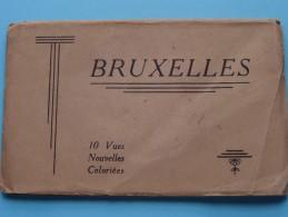 BRUXELLES ( P.I.B. ) Carnet 10 Kaarten ( Zie Foto´s Voor Details ) !! - België