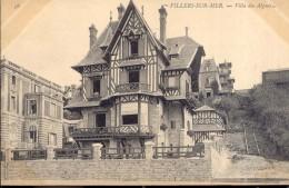 Villers Sur Mer - La Digue Et La Villa Des Algues - Villers Sur Mer