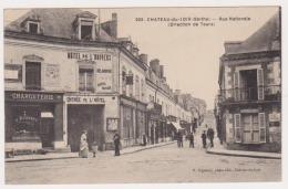 CPA  SARTHE 72   CHÂTEAU Du LOIR   Rue Nationale  N°205 - Chateau Du Loir