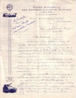 PARIS - UNION NATIONALE DES ANCIENS CHARS ET BLINDES , U. N. A. C. B. , A. C. C. A. R , ET O. A. C. C. A - 1950 - Dokumente