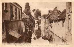 CPA - SAINT-LUBIN-des-JONCHERETS (28) - NONANCOURT, Vue De L'Avre Séparant Les 2 Communes - France