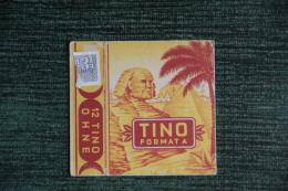 "Etui De Paquet De Cigarettes "" TINO FORMATA  "" -  GERMAN - Empty Cigarettes Boxes"
