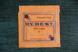 """Etui De Paquet De Cigarettes """" MY BEST """" -  TURQUIE - Etuis à Cigarettes Vides"""