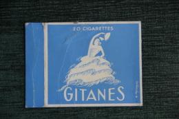 """Etui De Paquet De Cigarettes """" GITANES """" -  FRANCE - Etuis à Cigarettes Vides"""