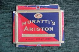 """Etui De Paquet De Cigarettes """" MURATTI'S ARISTON """" -  TURQUIE - Empty Cigarettes Boxes"""