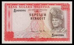 Malaysia 10 Ringgit 1976-1981 P.15 AUNC - Malaysia