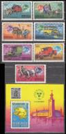 Mongolia 1974 Mi# 909-915 Bl 38 UPU MNH * * - Mongolia
