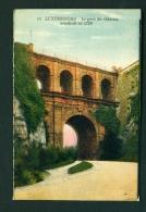 LUXEMBOURG  -  La Pont Du Chateau   Used Vintage Postcard - Luxemburg - Town