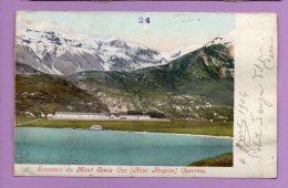 Souvenir Du Mont Cenis Lac (See) - Hotel Hospice, Casernes - FR Fribourg