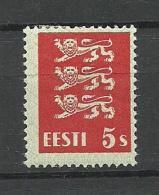 ESTLAND Estonia Estonie 1928 Michel 77 * - Estland