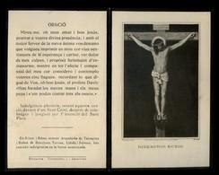 Impresor *F. Schaefer, Paris* Recordatorio Mod. 419. Año 1919. - Esquela