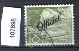 Schweiz, Bundesverwaltung Zst. 66 / Mi. 65 O - Officials