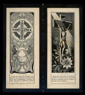 Impresor *Thomas, Barcelona* Recordatorio Mod. 248 Y 249. Año 1923. - Imágenes Religiosas