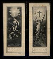Impresor *Tip. R. Cardona, Barcelona* Recordatorio Mod. 4010 Y 4011. Grabó: P. Ross. Año 1903. - Esquela