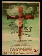 Impresor *Gráfica Manén, Barcelona* Ilustrador *A. Gil* Meds: 120x165 Mms. Año 1951. - Imágenes Religiosas