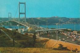 (TQ93) ISTANBUL . VE GUZELLIKLERI. BOSPHORUS BRIDGE .. UNUSED - Turchia