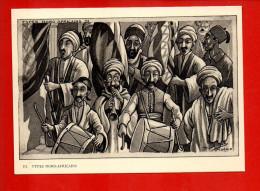 Illustrateur - Drack Oub - Types Nord Africains - Algérie - Scene & Tipi