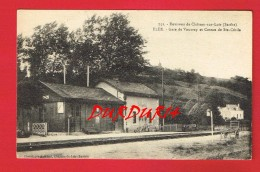 Sarthe ... FLEE  Gare De VOUVRAY - France