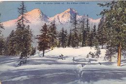 Piz Julier Piz D'Alban (Wehrli 1912) - GR Grisons