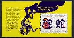 2013 - CHRISTMAS ISLAND - Mi. Nr. Block 30 -  NH -( **) - (K-EA-361388) - Christmas Island
