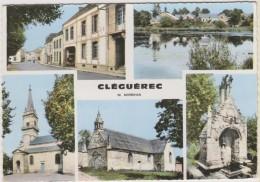 D56 - CLEGUEREC - MULTIVUES  - CPSM Grand Format