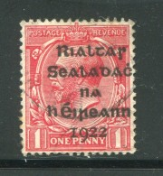IRLANDE- Y&T N°2- Oblitéré - 1922 Governo Provvisorio