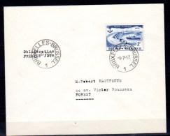 FDC, Brugge-Zeebrugge, Cachet 1er Jour, 1019  Enveloppe Circulée - Storia Postale