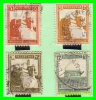 PALESTINA  ( ESTADO  DE  PALESTNE .ASIA ) 4 SELLOS AÑO 1927 - Palestina