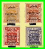 PALESTINA  ( ESTADO  DE  PALESTNE .ASIA ) 4 SELLOS AÑO 1922 - Palestina