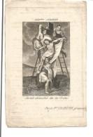 Z 9. Eerw. Zuster Redemptoristin M.A.J. Van ´t Heilig Bloed - Geb. J. VANDENBERCK  -  + BRUGGE 1843 (36j.) - Images Religieuses