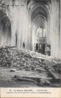 SOISSONS - 02  GUERRE 1914 /1918 -  Intérieur De La Cathédrale Après Le Bombardement -   - DPE - - Soissons